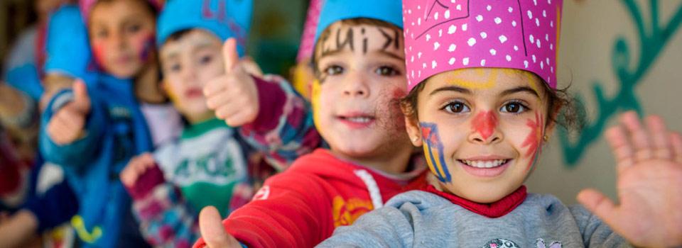 حملة لقاحات وزارة الصحة للأطفال الضيوف