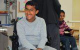 قمنا بأهداء مقاعد متحركة لأخواننا المعوقين من الاجئين