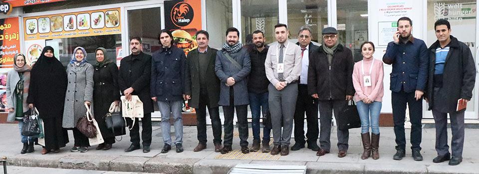 زيارة الجمعيات العاملة في غازي عنتاب لجمعيتنا