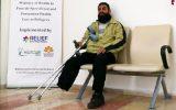 دعم أطراف اصطناعية لطه الذي فقد أحد ساقيه في السجن