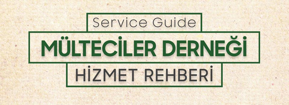 Mülteciler Association Service Guide is online