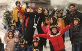 Child and Youth Center Organized A Snowboard Tour