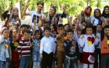 Anaokulu Öğrencileri Derslerini Gölet Parkında Yaptı