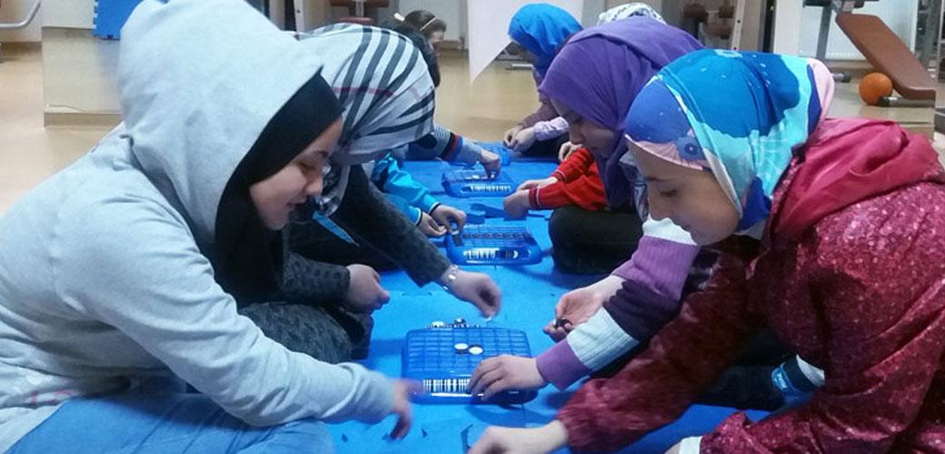 Mülteci Çocuklarla Zeka Oyunları