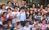 Ezgi Mola Sultanbeyli'deki Mülteci Çocukları Ziyaret Etti