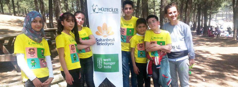 Suriyeli Çocuklarla Doğa Yürüyüşü