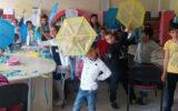 Türk ve Suriyeli Çocuklarla Birlikte Uçurtma Yaptık