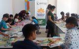 Çocuklar İçin Sanat ve El Sanatları Atölyesi Başladı