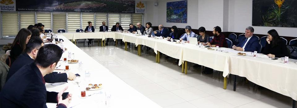 Sultanbeyli Belediyesi Toplantı