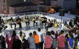 Mülteciler Derneği Çalışanları Açıkhava Konserinde