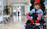 Cam Kemik Hastası Fatih Tekerlekli Sandalyesine Kavuştu