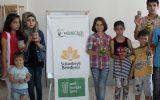 Mülteci Çocuklarla Kalem Kutusu Yaptık