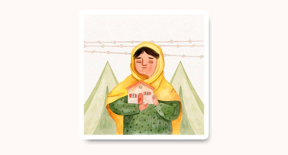 Göçve Mülteci Konulu Resim Yarışması