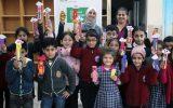 Çocuklarla Eva Kağıtları Kullanarak Kitap Ayracı Yaptık