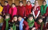 Türk ve Suriyeli Çocuklar Birbirlerine Atkı Hediye Etti