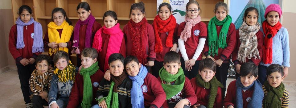 Suriyeli Çocuklar Atkı