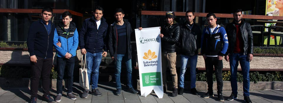 Türkiyeli ve Suriyeliler Kahvaltı Etkinliğinde