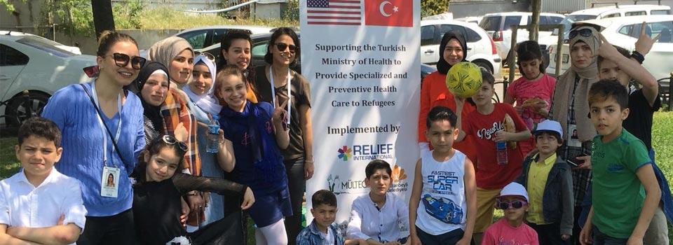 Mülteci Çocuklarla 23 Nisan Etkinliği