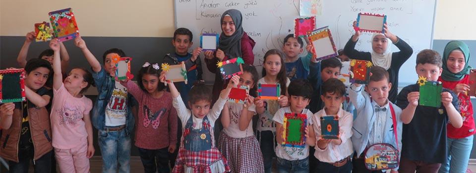 Suriyeli Çocuklar ve Anneleri