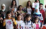 Anneler Günü Etkinliği: Çocuklarla Cam Boyama