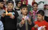 Çocuklar Origami Yapmayı Öğrendi Turna Yaptı