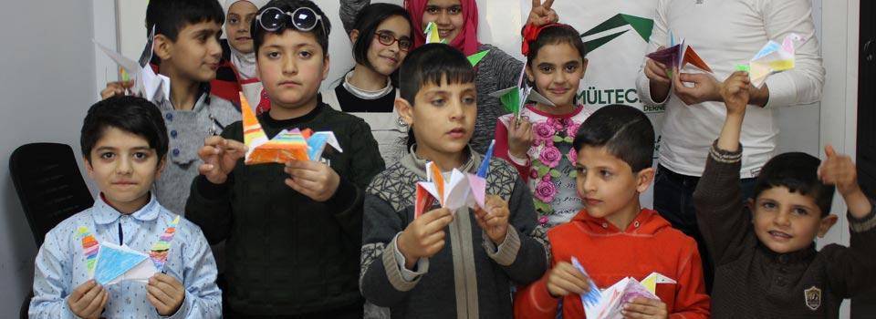 Mülteci Çocuklar Origami