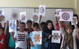 Çocuklar Mandala ile Yaratıcılıklarını Ortaya Çıkardı