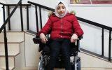 Tekerlekli Sandalyesine Kavuşan Raneem Artık Okula Gidebiliyor