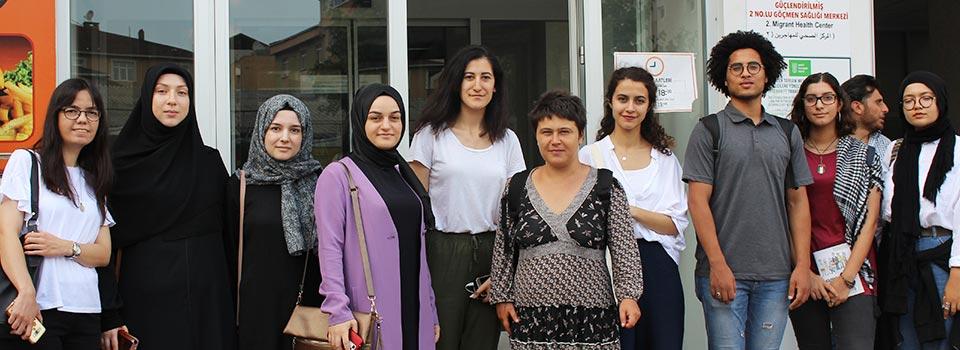 Mülteciler Derneği Gönüllüleri İle Buluştu