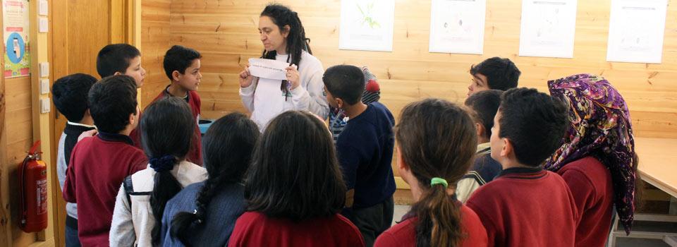 Sığla Ağacım Projesi Çocuklar