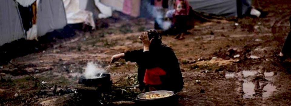 mülteci kadın