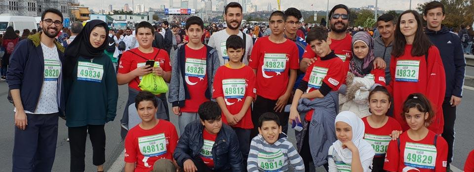 Mülteciler İstanbul Maratonu