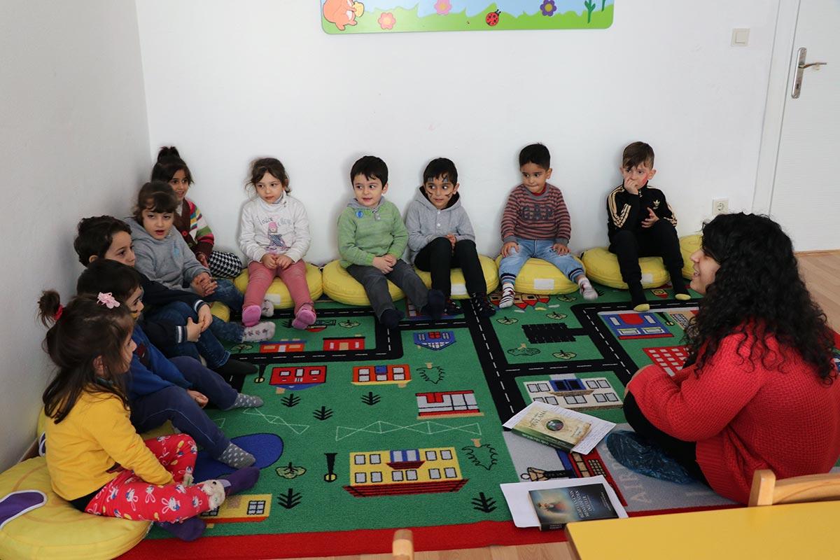 Anaokulu öğrencileriyle Mevlana Haftasını Kutladık Mülteciler Derneği
