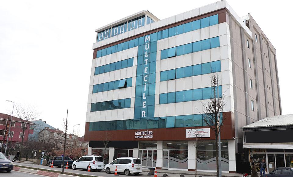 Sultanbeyli Mülteciler Derneği Toplum Merkezi bina