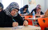 Türkçe Kursu Öğrencileri Sınavda