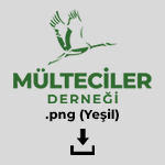 Mülteciler Derneği Yeşil Logo