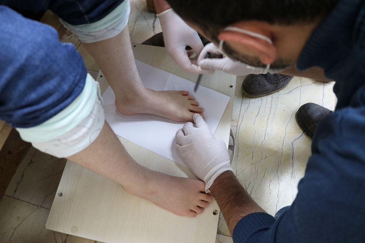 Mülteciler Derneği | Şam'ın Yürüme Bozukluğu Düzeliyor