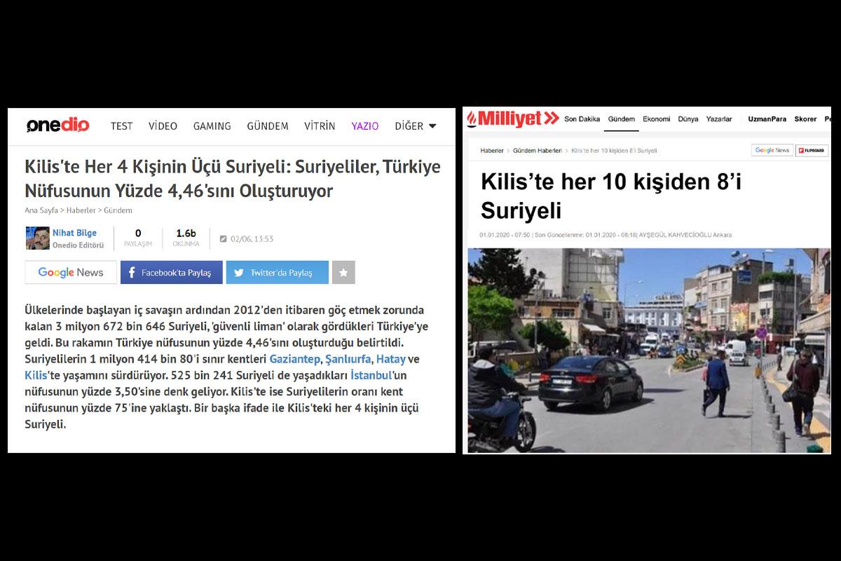 Yanlış haber yapan siteler Sözcü Onedio Milliyet
